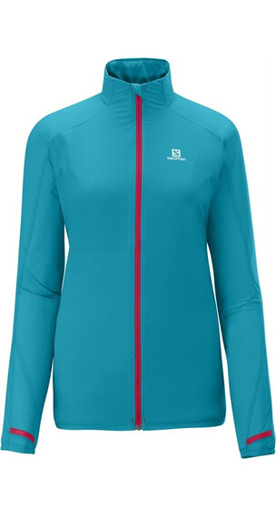 Salomon W's Fast Wing Jacket Boss Blue